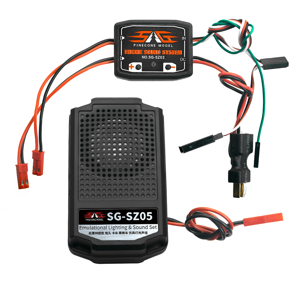 Cool Throttle Linkage Groups Engine Sound Simulator With 1 Speakers RC Car Parts - Photo: 4