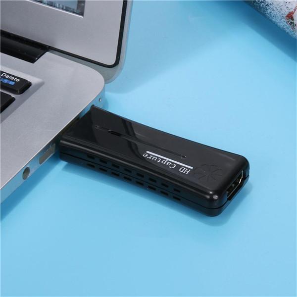 Mini Portable HD USB 2.0 Port HD 1080P 60fps Monitor Video Capture Card For PC