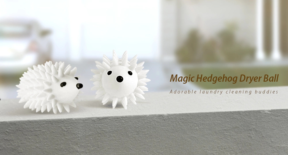Magical Hedgehog Skirt Sweater Washing Dryer Ball Keeping Laundry Soft Fresh Washing Machine Drying Fabric Softener
