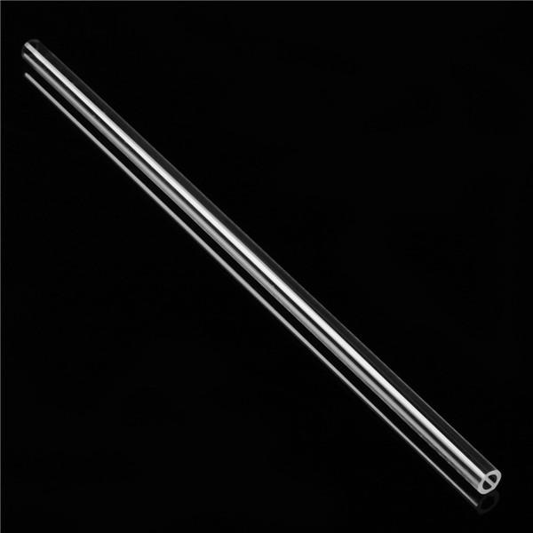 300mm Acrylic Round Tube 0.95cm OD x 0.635cm ID Clear Acrylic Plexiglass Lucite Tube