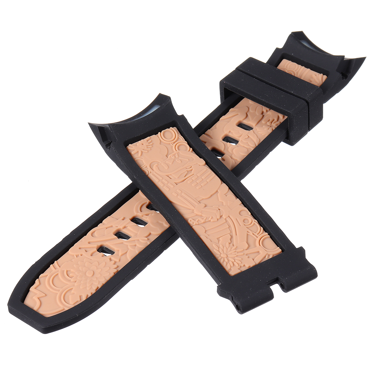 Replacement Rubber Watch Band Strap for Invicta S1 Rally Dragon 12137