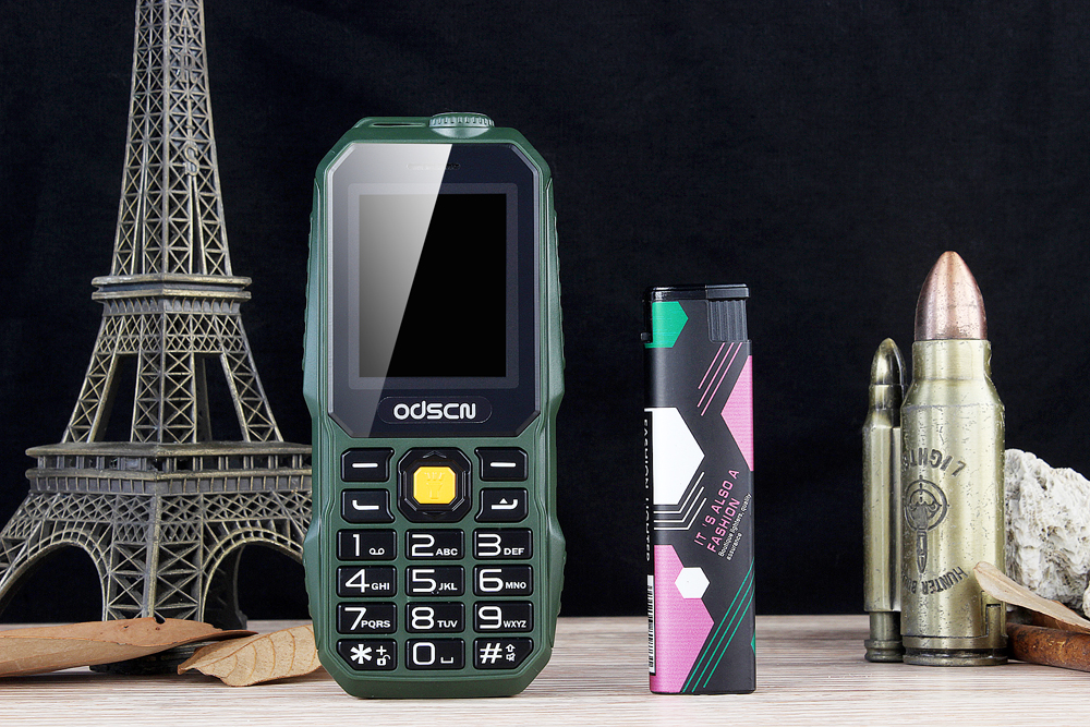 GOFLY T320 1.77 Inch 1800mAh Flashlight FM MP3 Power Bank Dual SIM Outdooors Mini Feature Phone