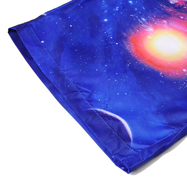 3D Starry Sky Printing Summer Leisure Beach Board Shorts
