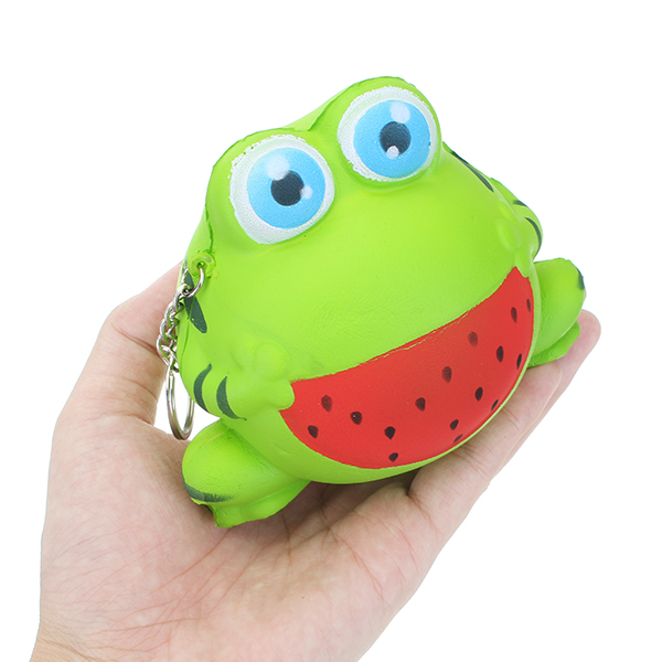 12cm Squishy Frog Slow Rising Animal Squishy Collection Gift Decor