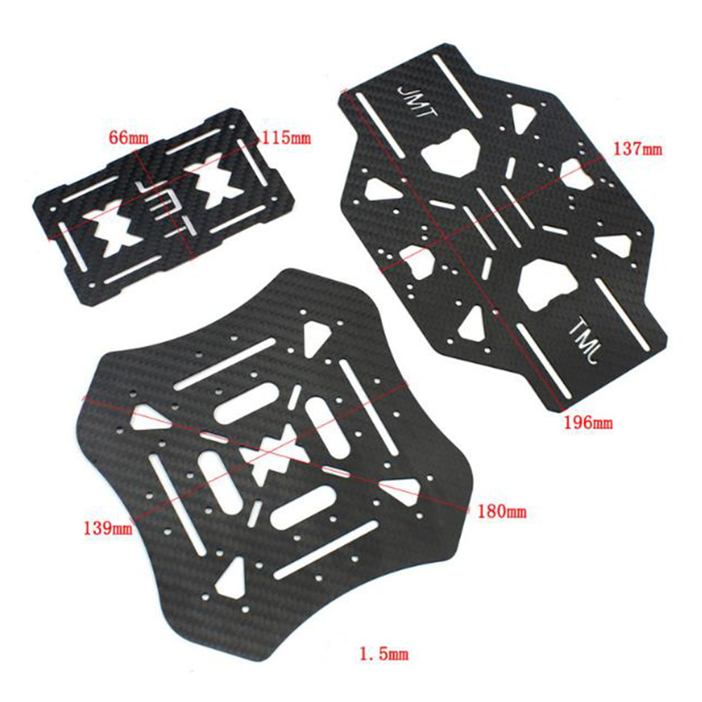 FEICHAO X4 460mm Foldable Umbrella-Type Carbon Fiber Frame Kit for RC Drone Multicopter