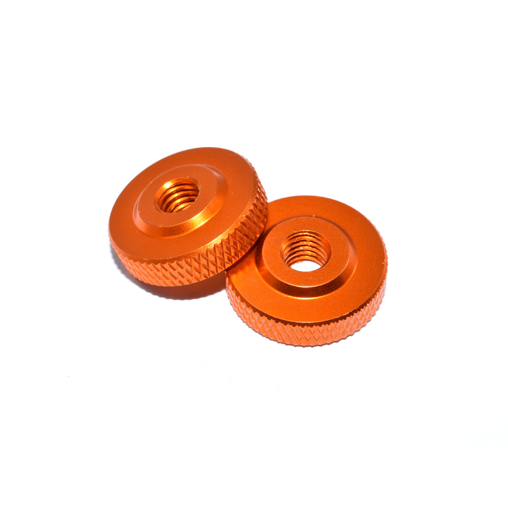 10 PCS AuroraRC M3x12x4 Aluminum Alloy Screw Nut for RC FPV Racing Drone