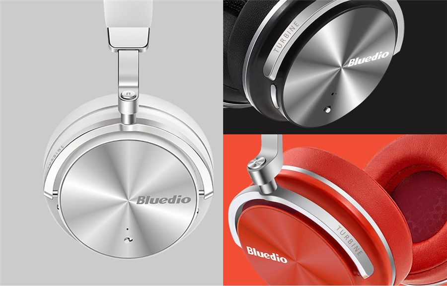 Original Bluedio T4S Active Noise Cancelling ANC Bass bluetooth Headphone With Mic