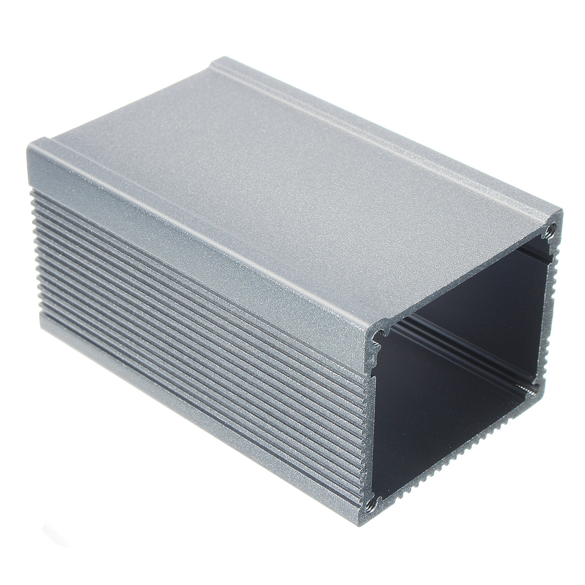 DIY Extruded Aluminum Instrument Box Enclosure Case Project Electronic 80*50*40mm Silver