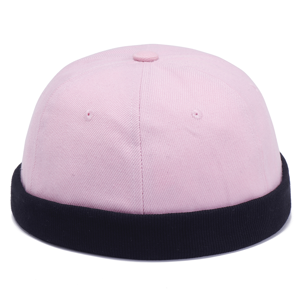 Mens Womens Cotton Adjustable French Brimless Hat