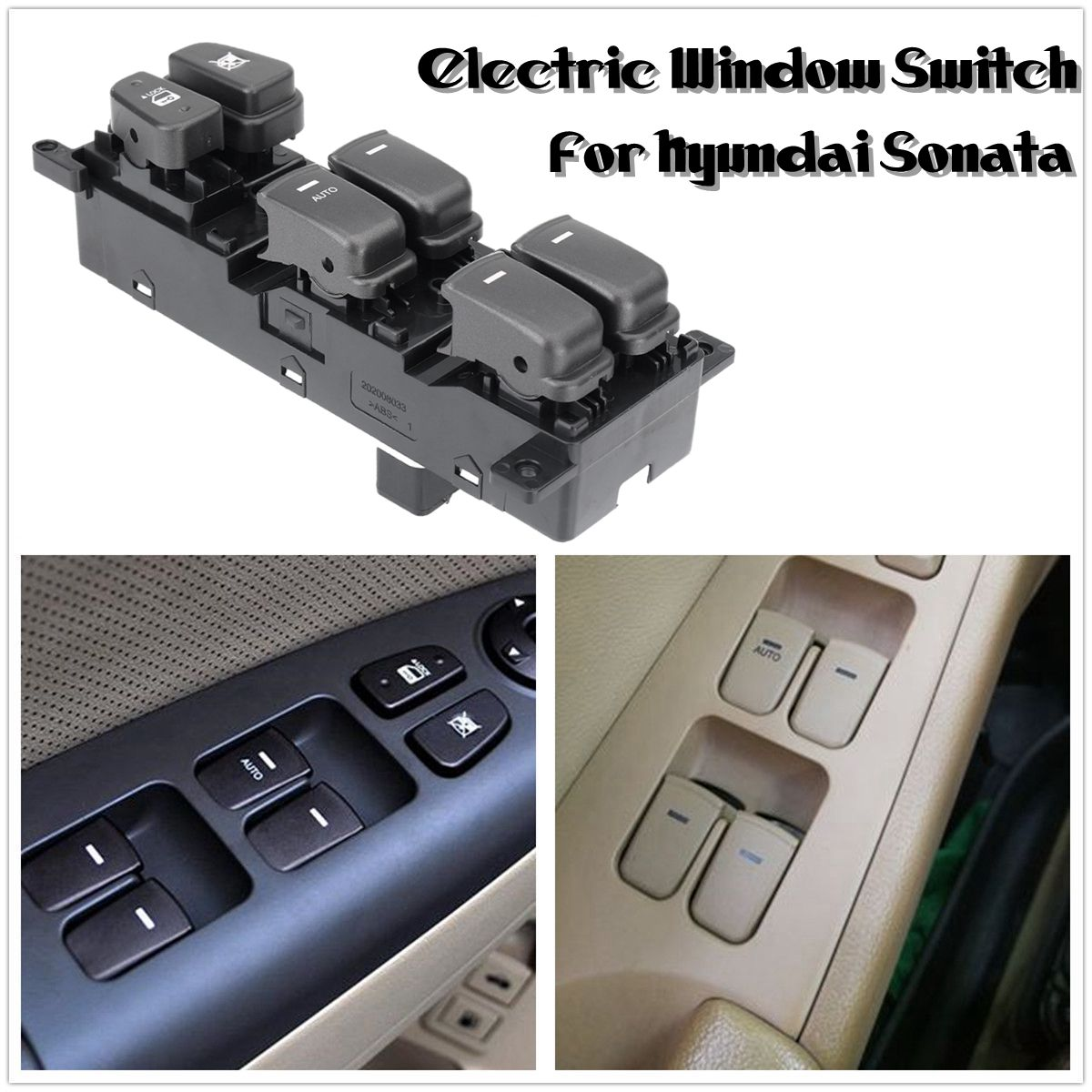 1Pc Front Electric Window Switch Fit For Hyundai Sonata 2007-2010 93570-3K600