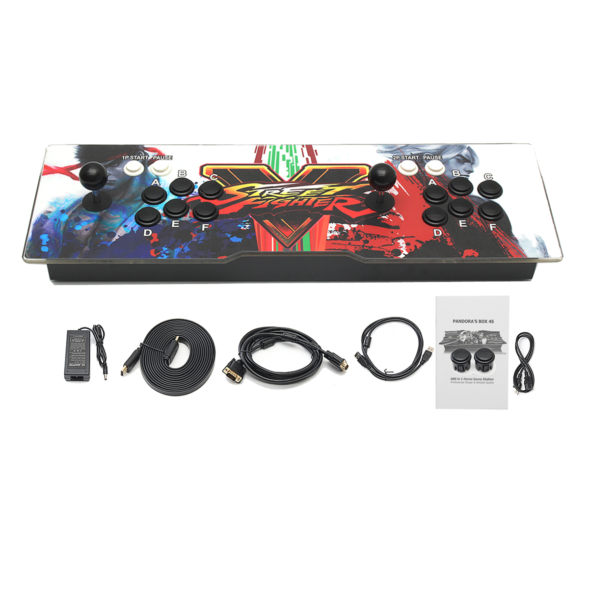 PandoraBox 5S 1300 in 1 Dual Player Double Joystick Arcade Games Console