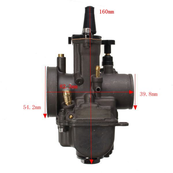 PWK 28/30/32/34mm 100cc-350cc ATV Carburetor With Nozzles For Honda/Yamaha/Suzuki/Kawasaki