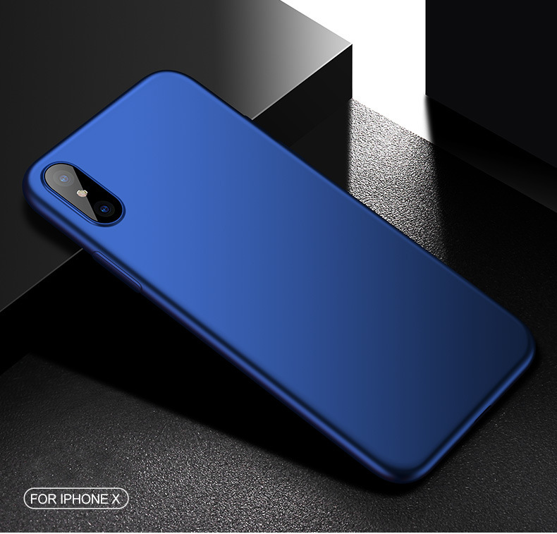 Cafele Ultra Thin Anti Fingerprint Shockproof Soft TPU Case for iPhone X