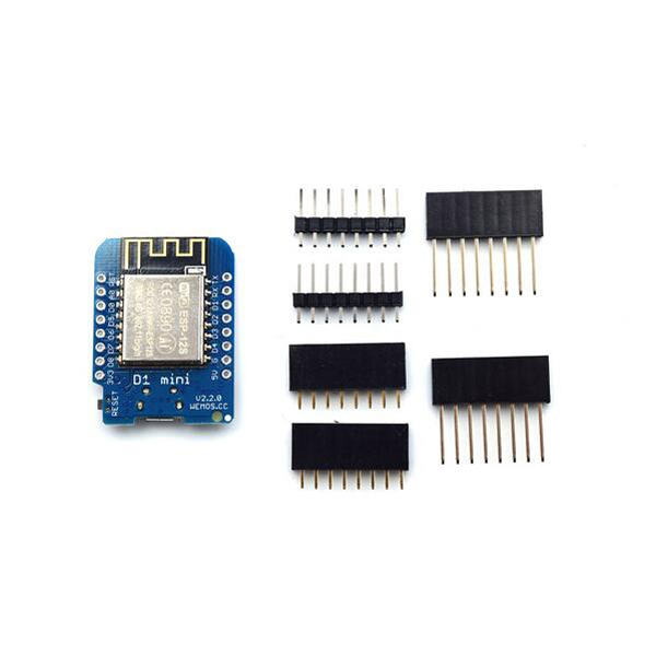 WeMos® D1 mini V2.2.0 WIFI Internet Development Board Based ESP8266 4MB FLASH ESP-12S Chip
