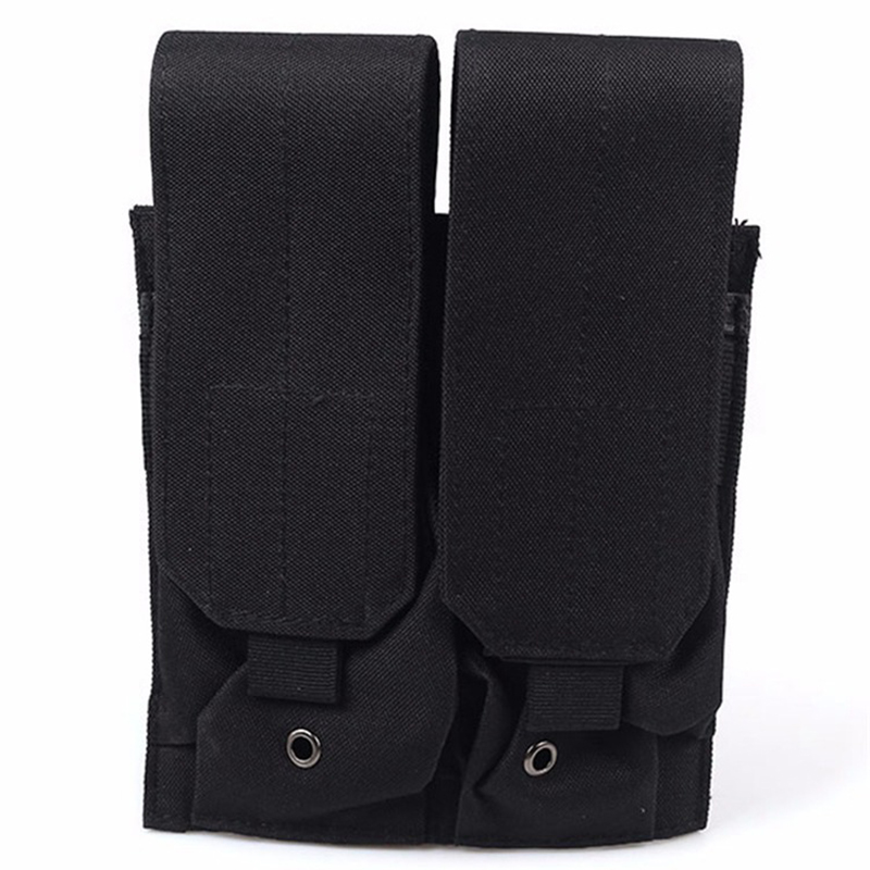 Nylon Tactical Molle Double Magazine Pouch Cartridge Clip Pouch For M4/M16 Hunting Gun Accessories