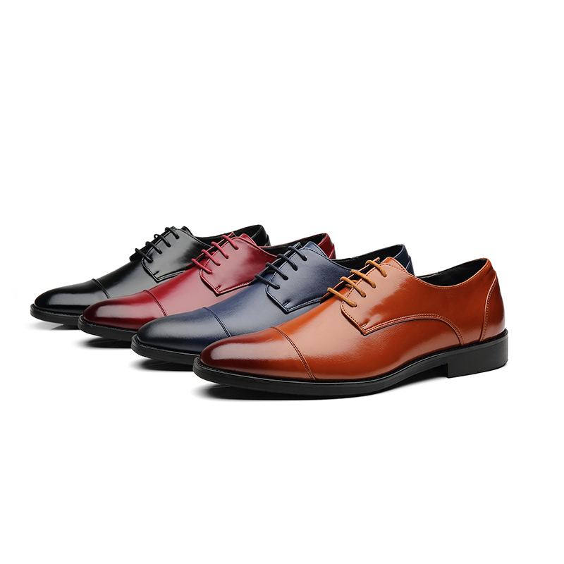 Soft Oxfords Leather Shoes