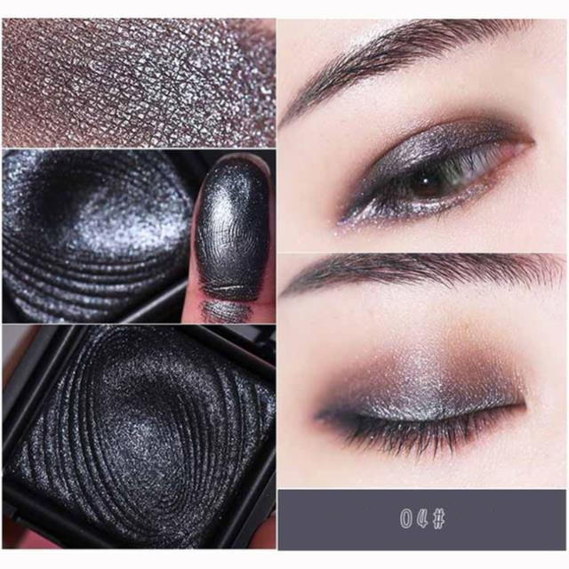 Beezan Baked Metallic Glitter Eye Shadow Palette Naked Waterproof Mineral Makeup Shimmer