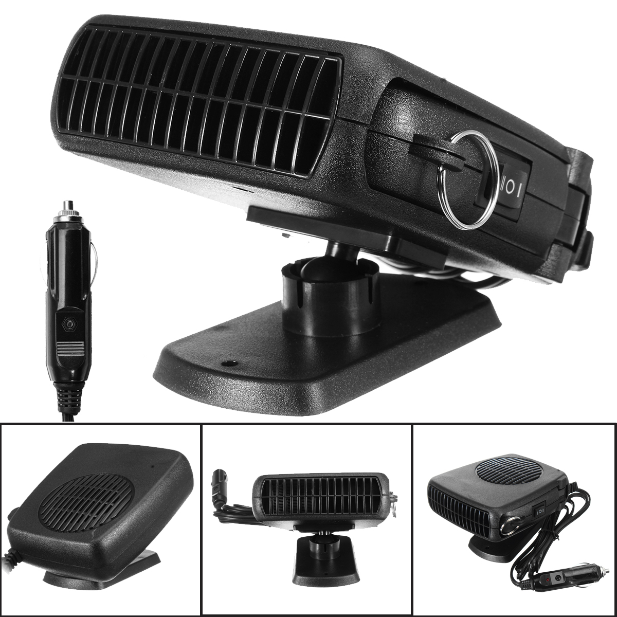 12V 150W Three-In-One Car Heater Cold and Warm Machine Hot Air Cold Wind And Defrosting