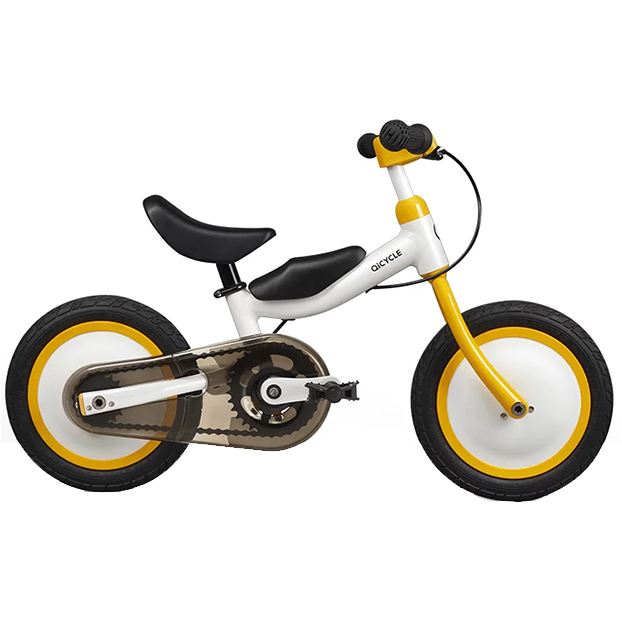 QICYCLE Bike Tricycle Scooter 12 for Children Yellow Co