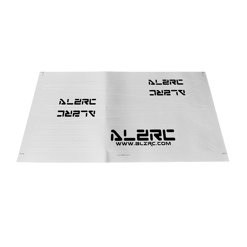ALZRC Devil 505 FAST RC Helicopter Parts Carbon Fiber Landing Skid Color Sticker White