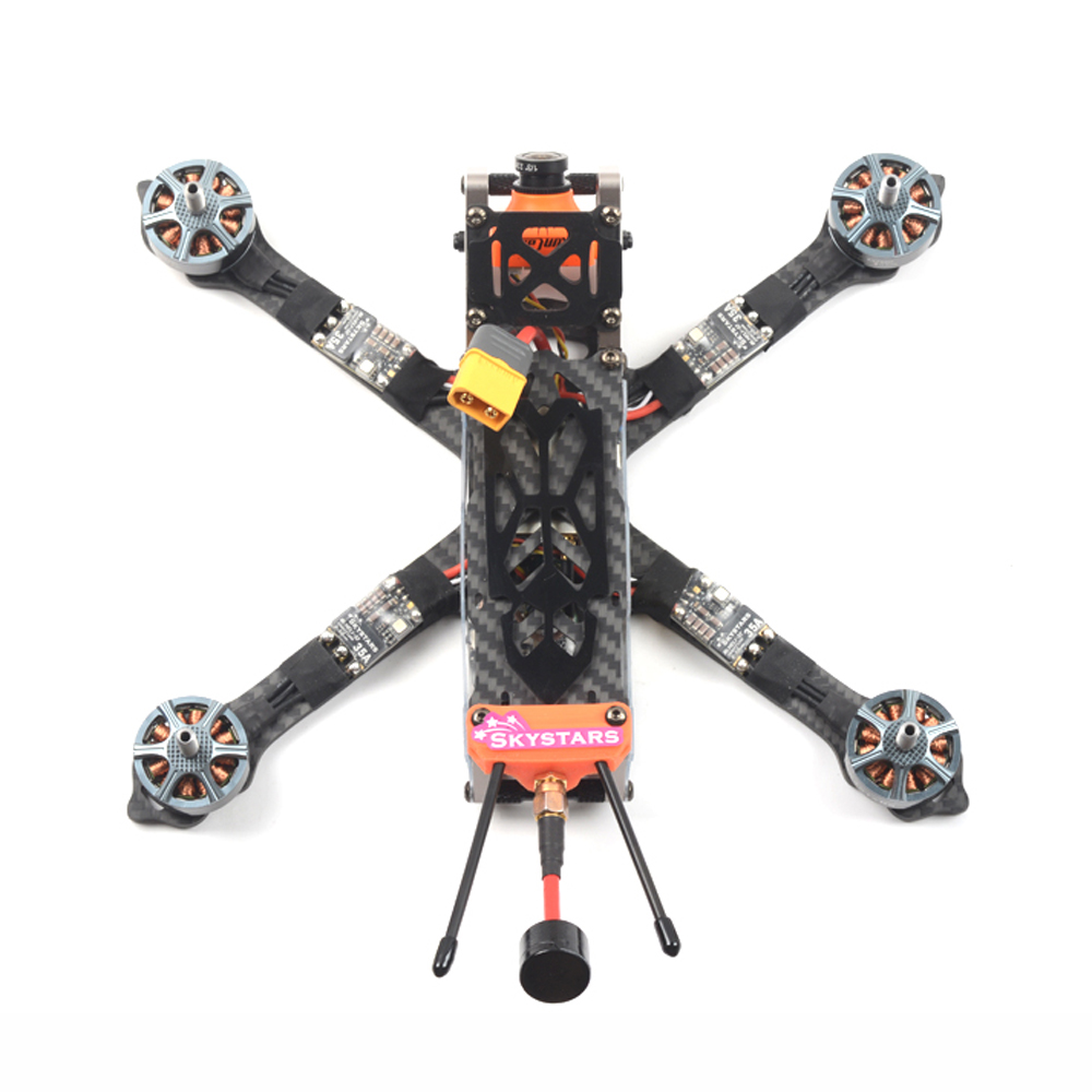 SKYSTARS G520S 228mm 4-6S FPV Racing Drone PNP/BNF Integrated Type F4 8K OSD Runcam Micro SWIF 2 600mW VTX SmartAudio - Photo: 3