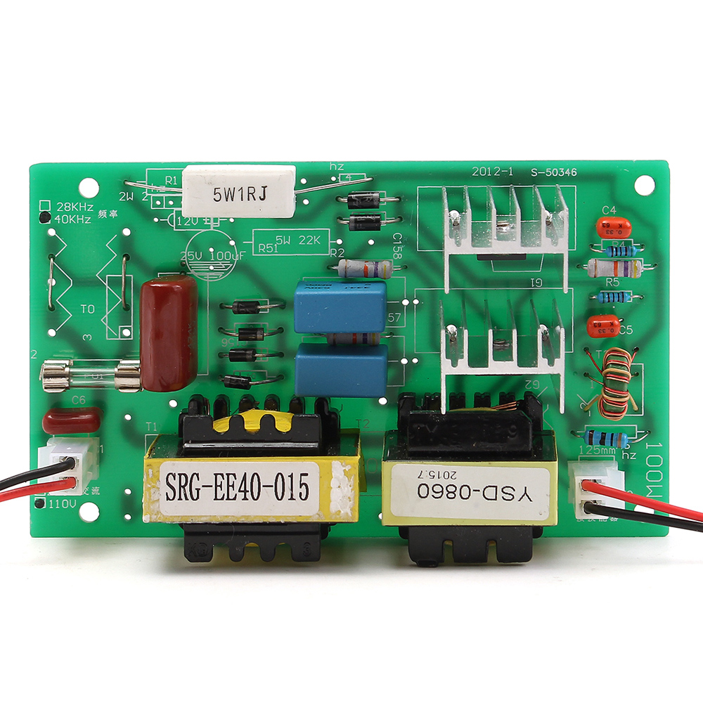 Other Electronics Ac 110v 50w 40khz Ultrasonic Cleaning Transducer Circuit Transmitter Cleaner And Power Driver Board