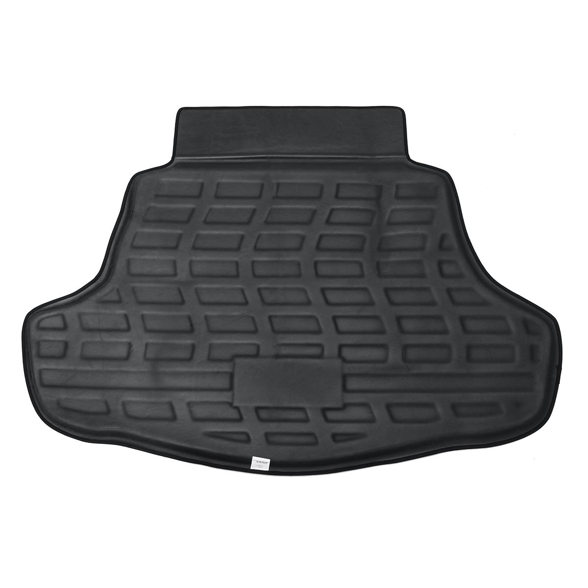 Car Cargo Boot Liner Rear Trunk Tray Mat Floor Carpet Black for Toyota Camry XV70 2018