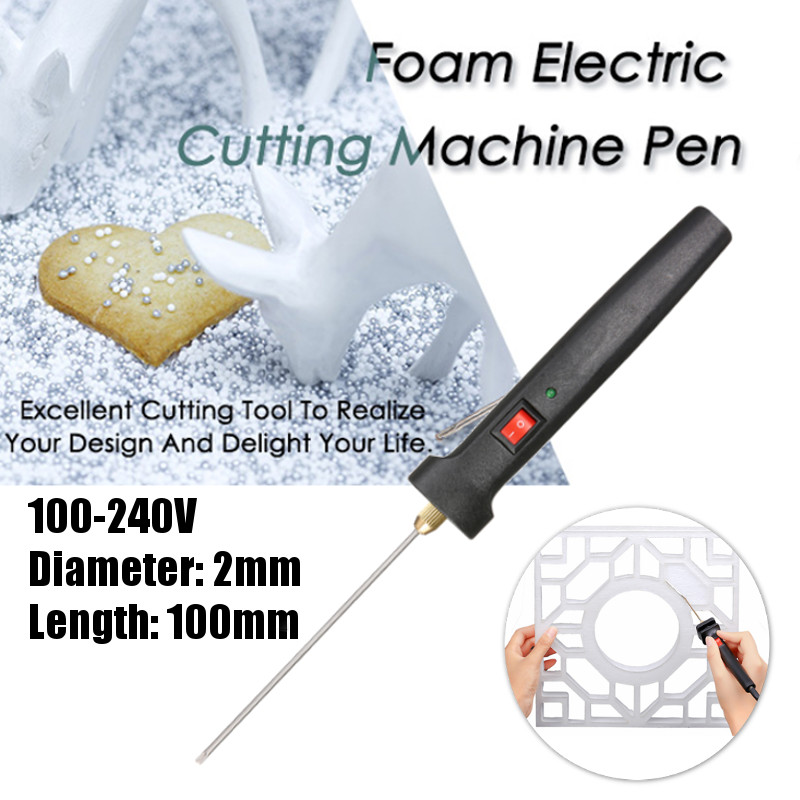Foam Cutter Electric Cutter Pen Craft Hot Wire Knife Styrofoam Cutting Machine Pen with Transformer