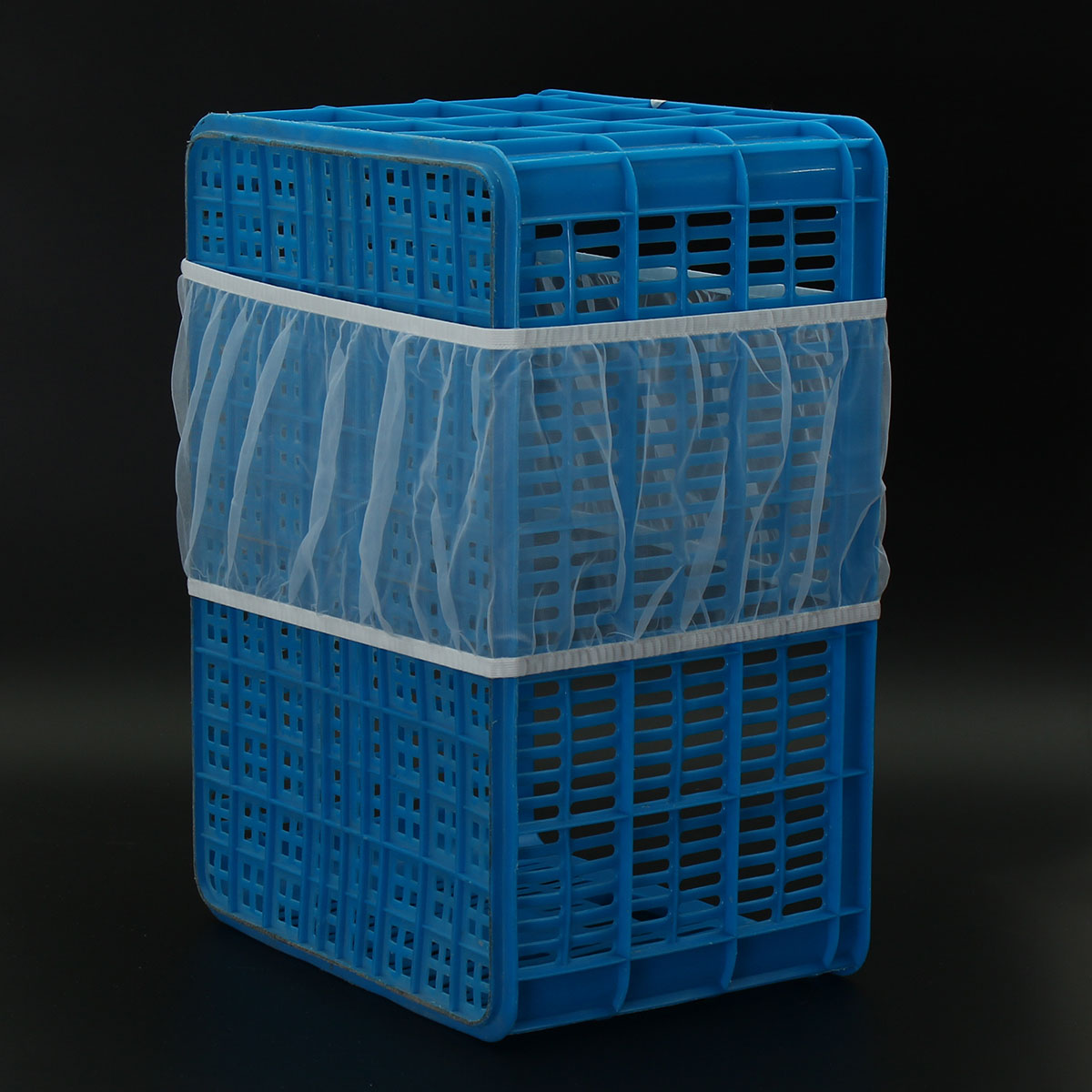3 Sizes White Seed Catcher Seed Guard Mesh Bird Cage Cover Skirt Traps Cage Debris Bird Net