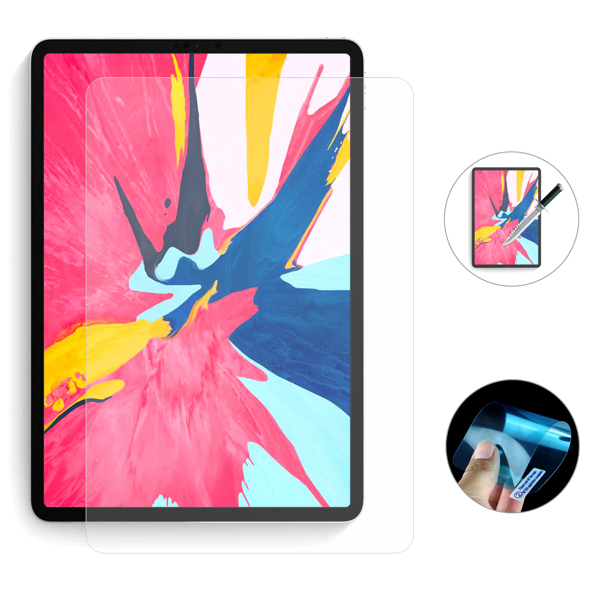 Enkay Nano Explosion Proof Tablet Screen Protector For iPad Pro 11
