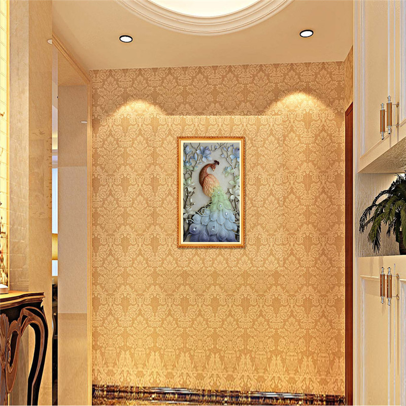 New 5D Diy Diamond Painting Beautiful Peacock Pictures Diamond Painting Cross Stitch Animals Needlework Rhinestones Embroidery