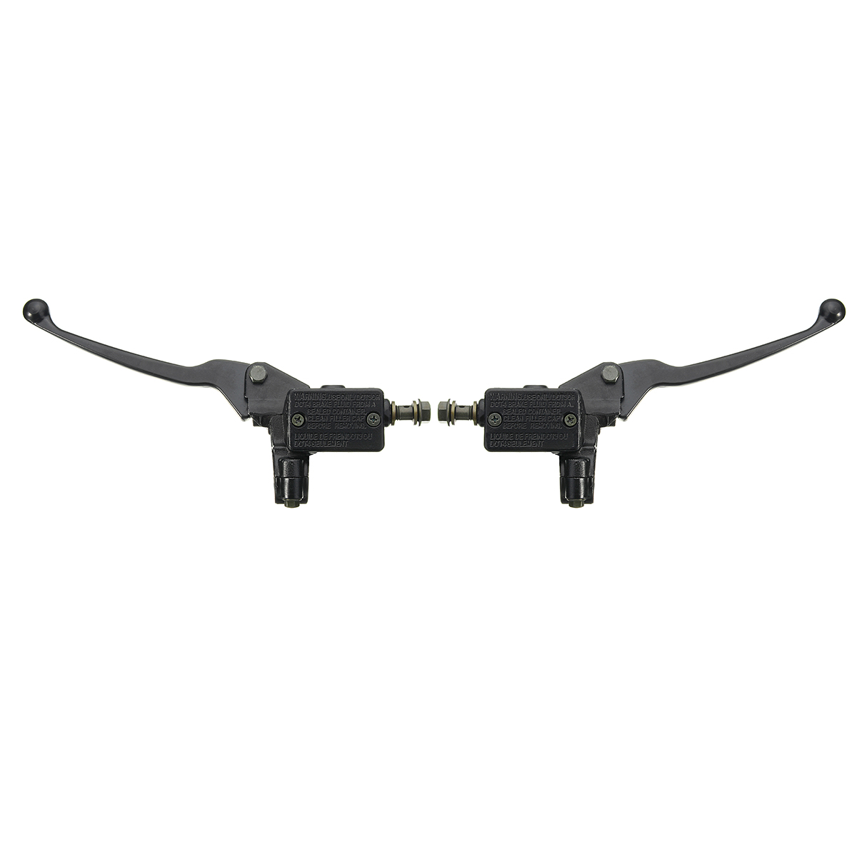 8mm Banjo Motorcycle Handlebar Hydraulic Brake Clutch Master Cylinder Lever Universal