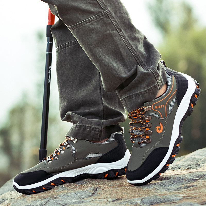 Lace Up Running Athletic Shoes For Men