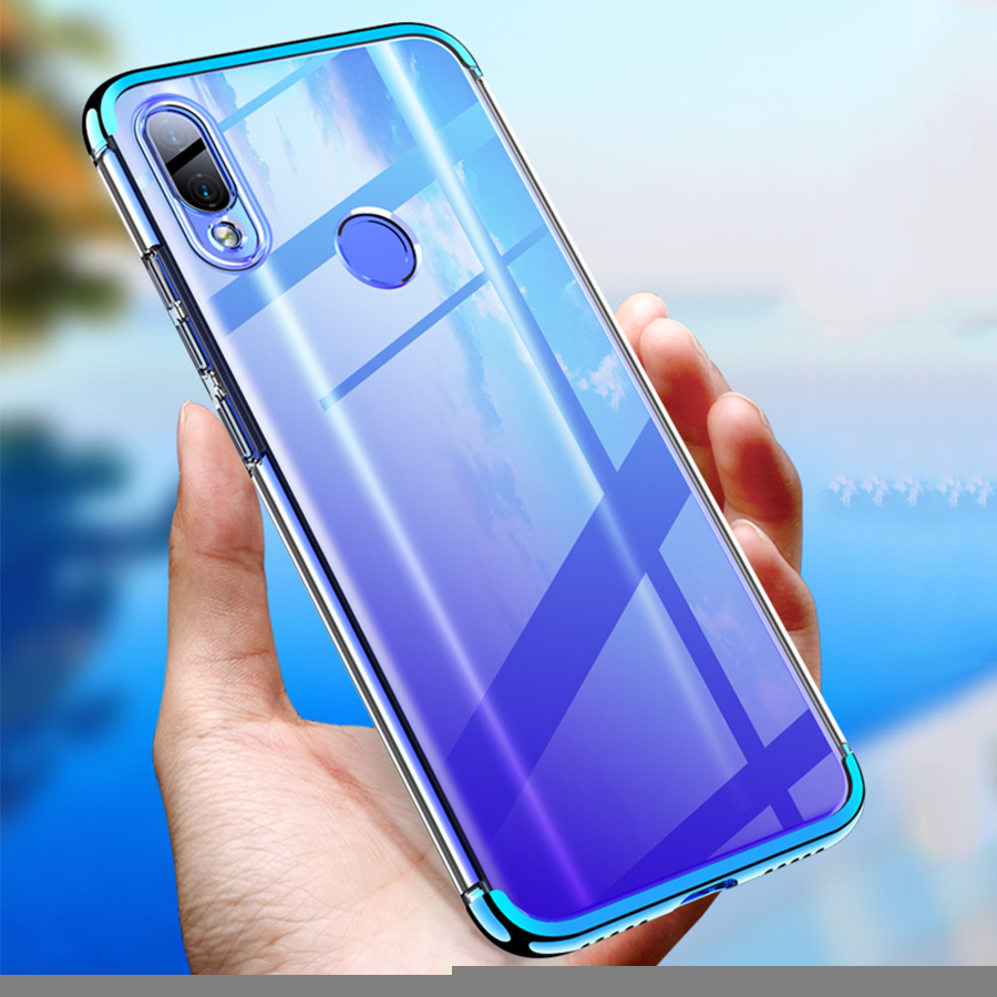 Bakeey 3 In 1 Detachable Elac-plating Transparent Hard PC Protective Case For Xiaomi Redmi Note 7 / Redmi Note 7 Pro