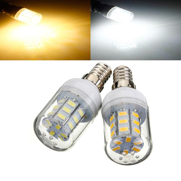 e14 4w white/warm white 5730 smd 27 led corn light bulb 12v title=e14 4w white/warm white 5730 smd 27 led corn light bulb 12v