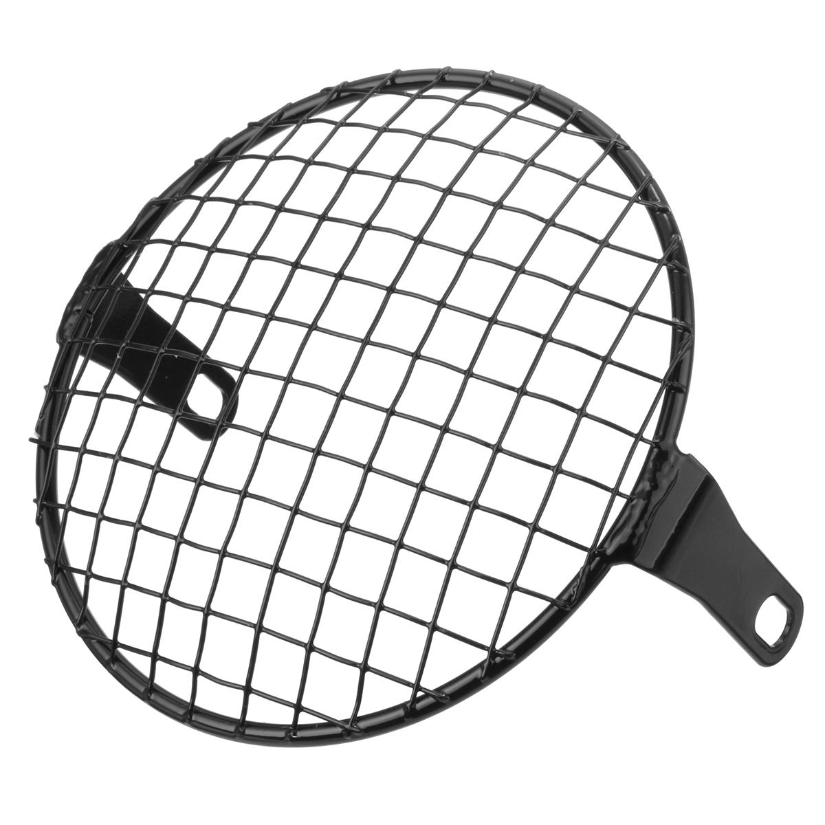 7inch Motorcycle Headlight Mesh Grill Mask Protector Guard Square/Rhombus Cover