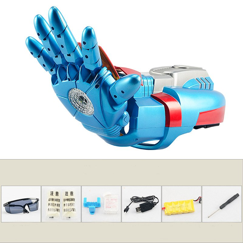 Electric Shooting Robot Arm Water Beads Cool Gift For Boy Kids Adults Novelties Toys