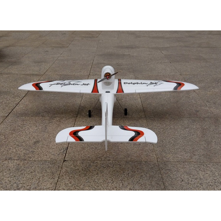 Dolphin Jet 1010mm Wingspan EPO RC Airplane Glider With Landing Gear KIT - Photo: 4