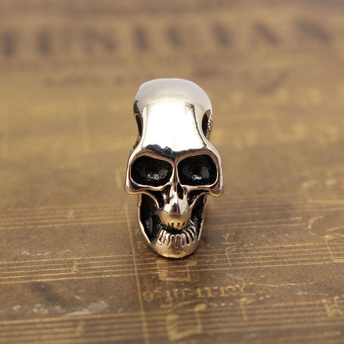 Punk Unisex Alloy Skull Head Pendant For Necklace Chain