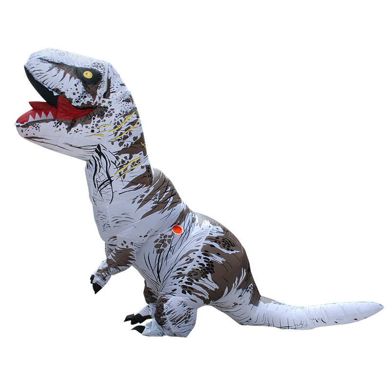 Christmas Inflatable Clothing Dinosaur Adult Models Air Blowing Up Costume Funny Toys Children Gift