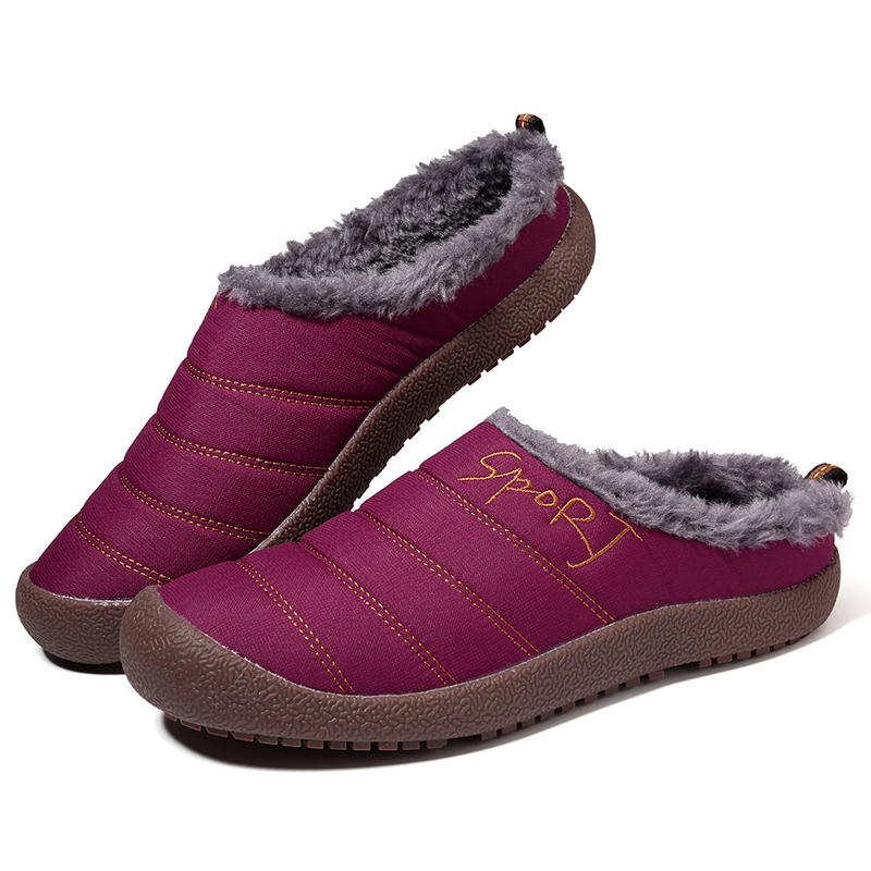 Women Ankle Boots Warm Snow Waterproof Casual Boots