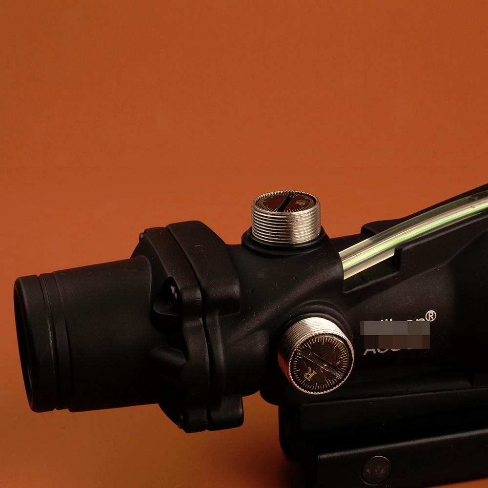 Ohhunt ACOG 1X32 Green Fiber Optic Riflescope Tactical Green Dot Laser Sight Tactical Scope