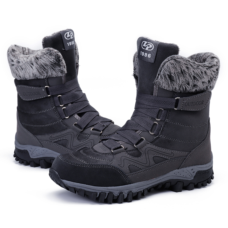 LOSTISY Women Lining Warm Casual Boots