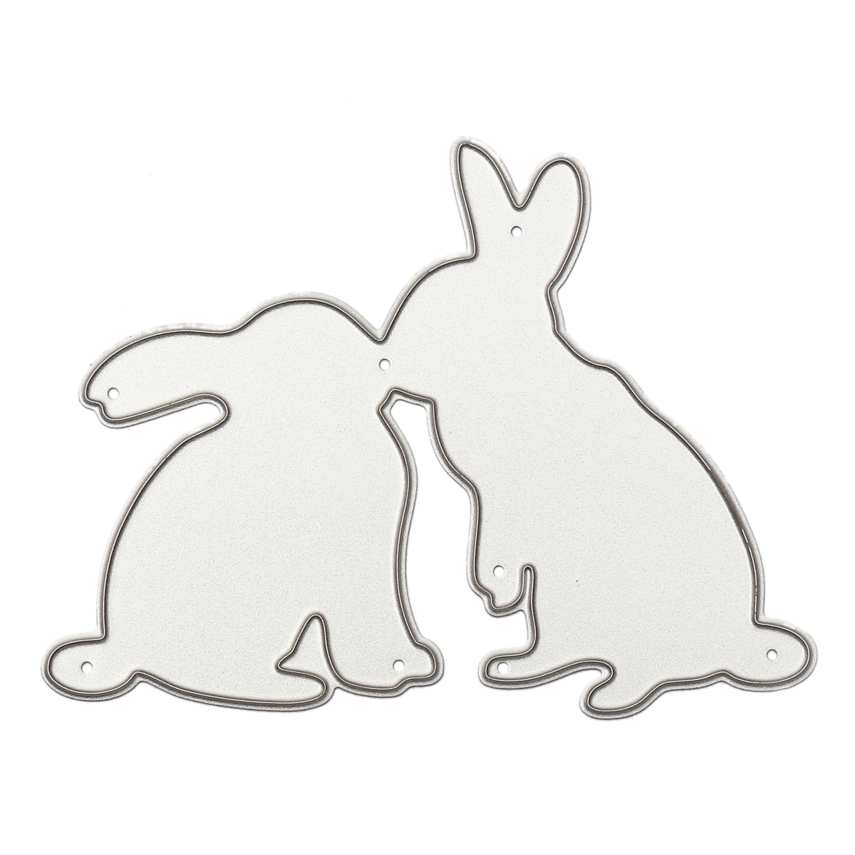 Kiss Bunny Metal Cutting Dies Stencils For DIY Scrapbooking Photo Album Paper Card Gift