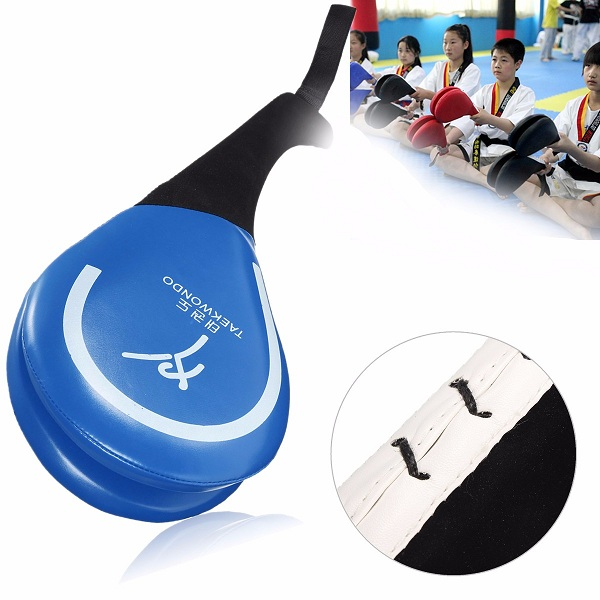 Taekwondo Double Kick Pad Target Tae Kwon Do Karate Kickboxing Traning Gear