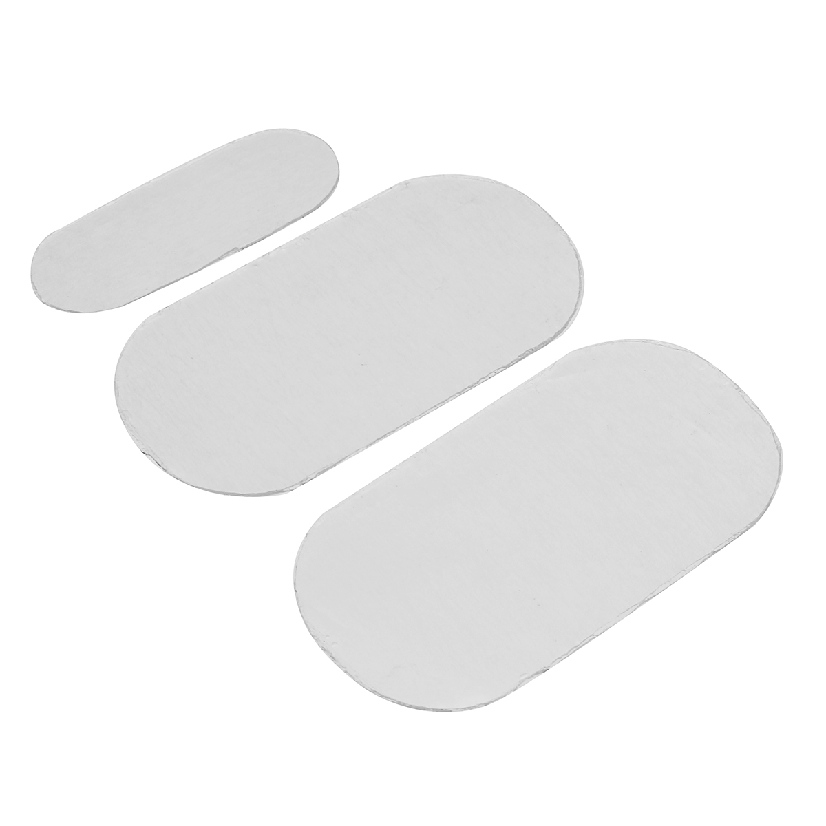 3pcs/Set Replacement Gel Sheet Pad For Hip Trainer Health Stick Muscle Fit Fitness