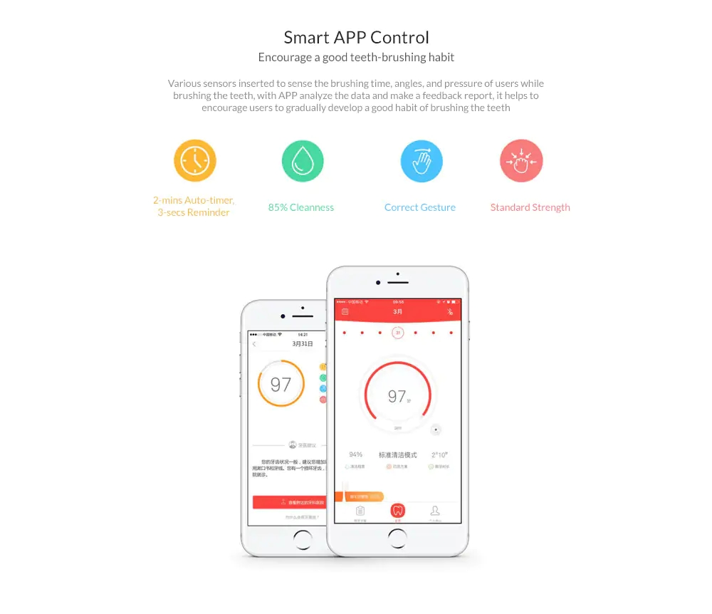XIAOMI Oclean One Automatic Sonic Electrical Toothbrush