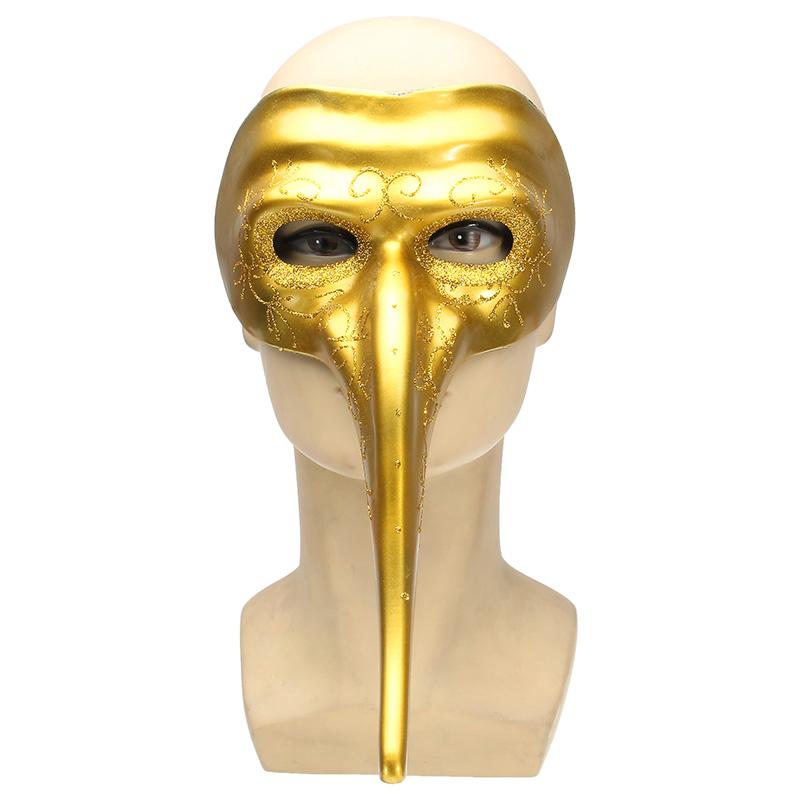 Halloween Costumes Long Nose Masks Masquerade Party DIY Drawing
