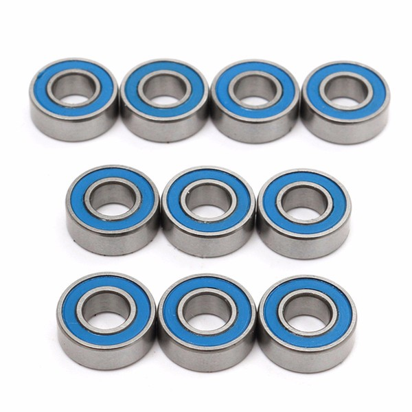 10pcs MR115 2RS 5x11x4mm Ball Bearings For Traxxas Slash Rustler Stampede Wheel