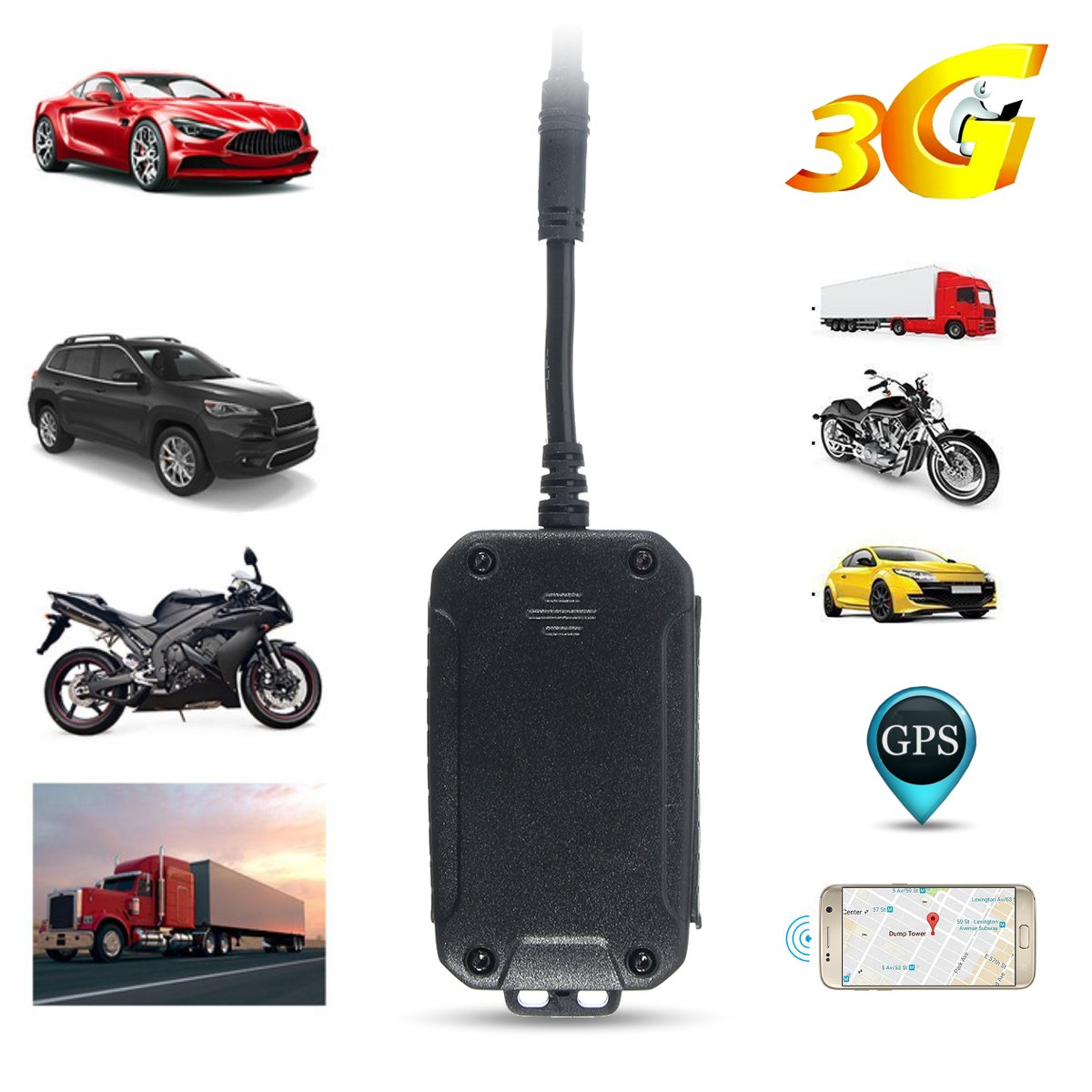 Real Live Time 3G GPS Tracker Car Tracking Device Vehicle Yacht Boat Caravan OZ